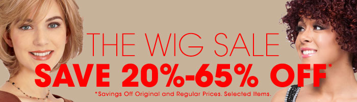 Wig Sale - Save up to 65% off from Original or Regular Prices.