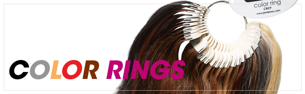 Color Rings for Wigs and Hairpieces