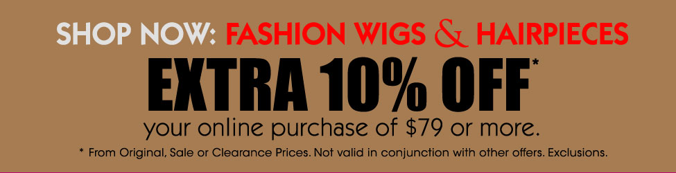 Save Extra 10% Off | Wig Warehouse