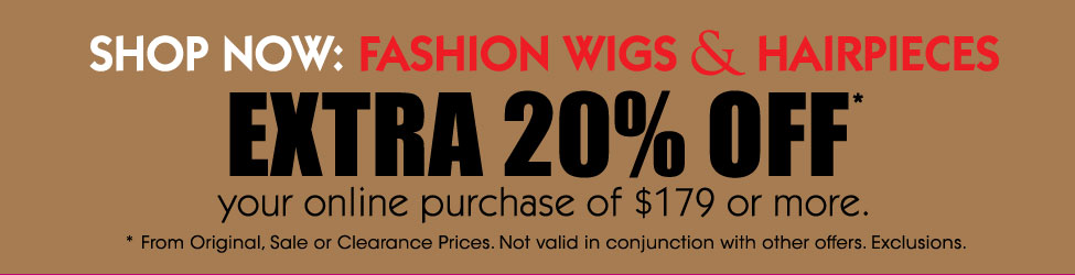 Save Extra 20% Off | Wig Warehouse