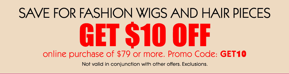 Wig Coupon for Wigs and Hairpieces