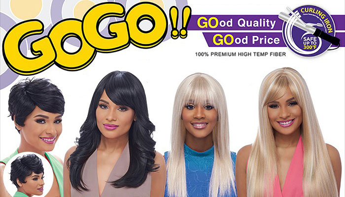 GO GO Collection Wigs by Harlem 125
