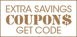 Get An Extra Savings Now - Simply Enter Coupon Code While Checkout!