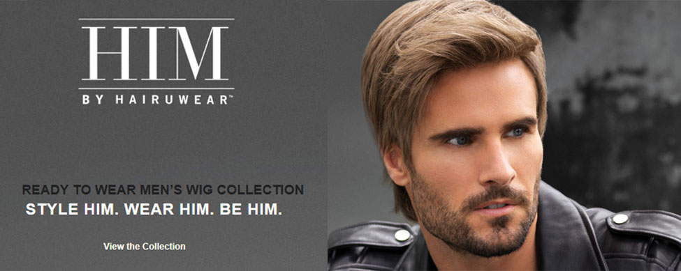 HIM - Ready to Wear Men's Wig Collection by HairUwear