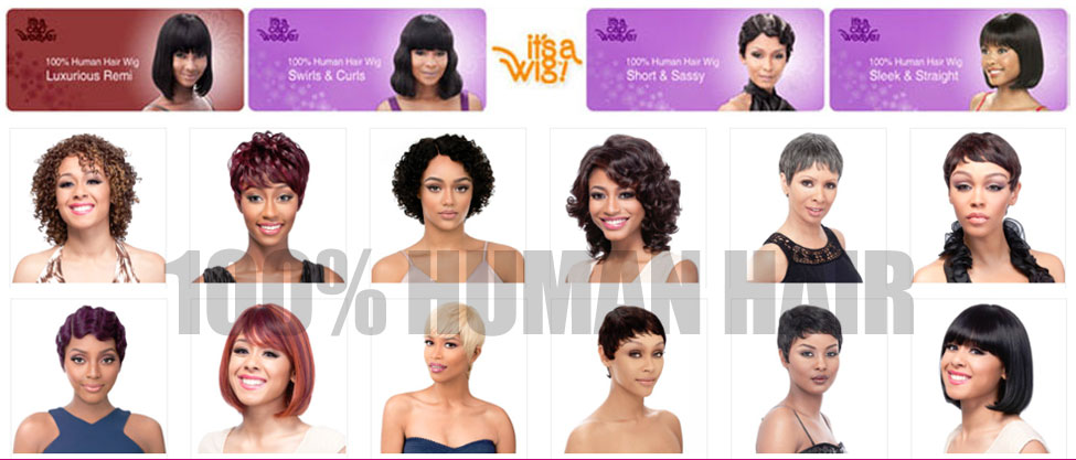 It's a Wig - Human Hair Wigs for Women