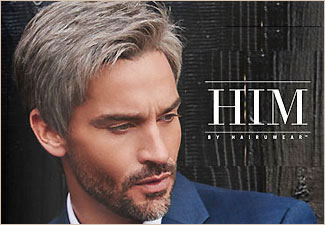 Men's Wigs - HIM by Hairuwear