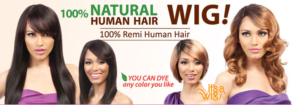 100% Indian Remi Human Hair Wigs