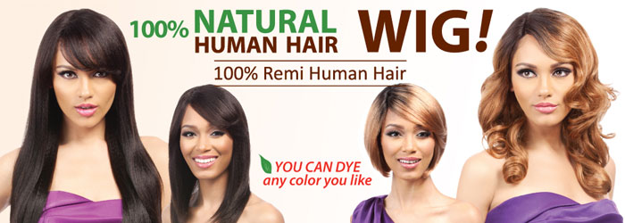 Indian Remi Human Hair Wigs