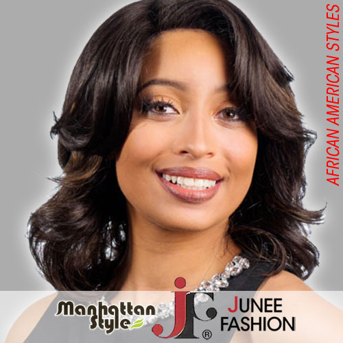 Junee Fashion Manhattan Style Wigs for Africans