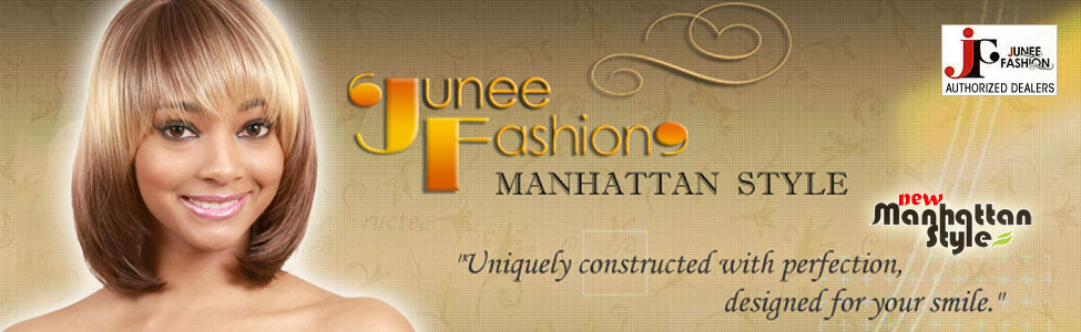 Junee Fashion Wig Collection - Manhattan Style | Lace Front Wigs