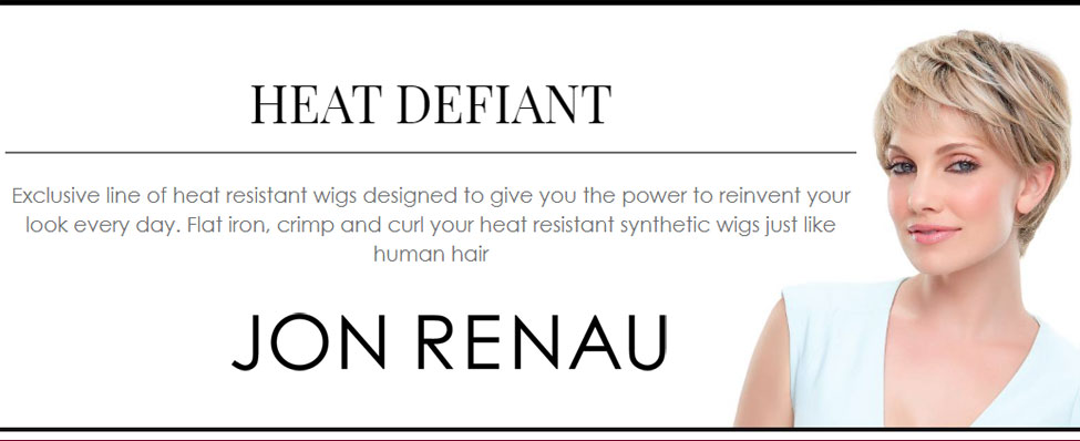 Heat Defiant Collection - curling Irion Safe Wigs by Jon Renau