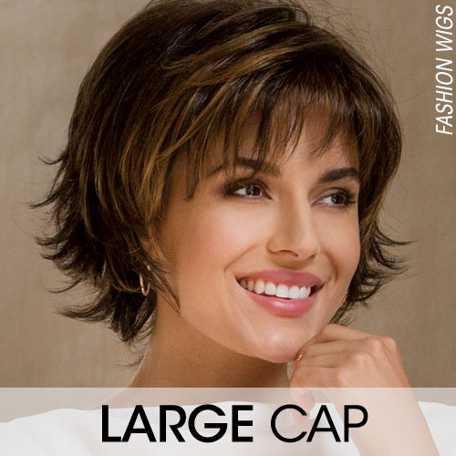 Large Cap Wigs & Large Head Wigs