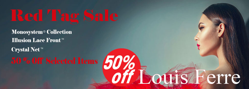50% off on Louis Ferre Wigs | Red Tag Sale | Wig Warehouse