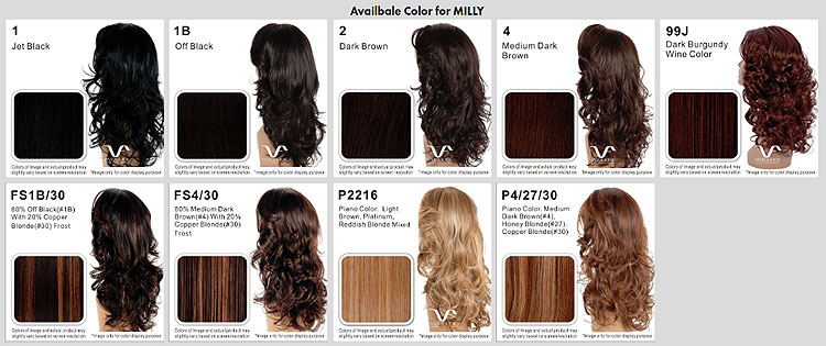 Vivica Fox Hair Colors