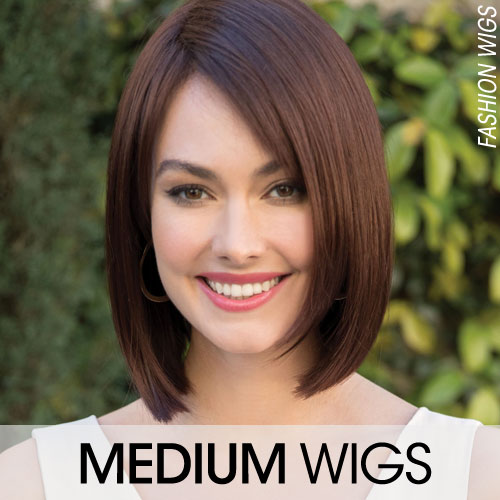 Medium Length Hair Wigs