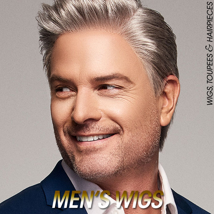 Men's Wigs and Toupee Hair Wigs
