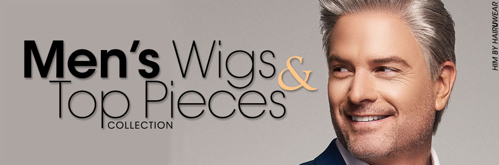 Men's Wigs and Top Pieces