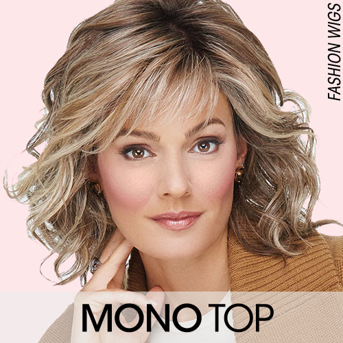 Mono Tops and Monofilament Wigs for Women