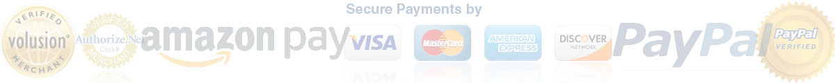 Various Payment Options: VISA, MASTERCARD, AMERICAN EXPRESS, DISCOVER and PayPal. Including VISA and MasterCard Debit.