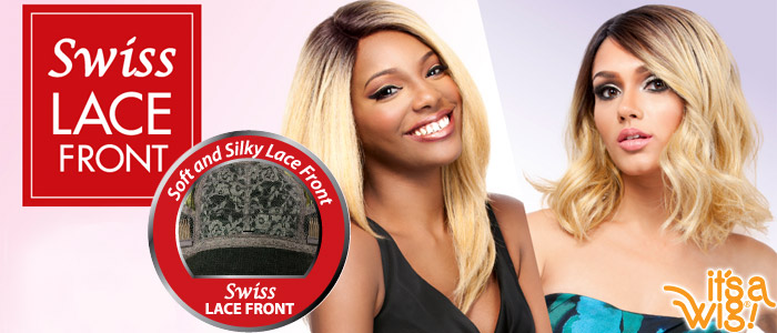 Lace Front Wigs - Human Hair and Swiss Lace Front