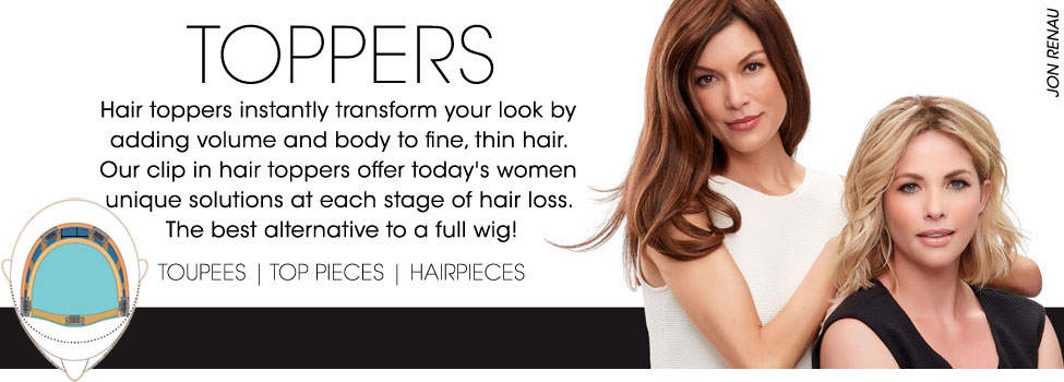 All Toppers, Toupees & Top Pieces - Wig Warehouse