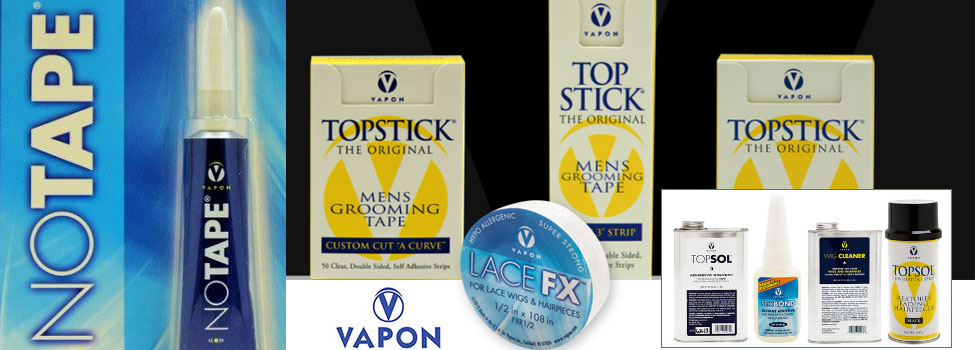 Vapon Tapes - TopStick Tape | No Tape | Hair Replacement Products