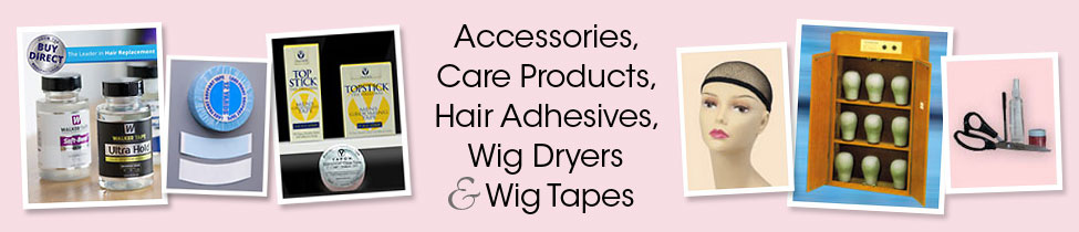 Wig Care Product Store - Accessories, Wig Tapes & Wig Dryers