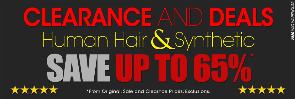 Wig Clearance Sale at Wig Warehouse