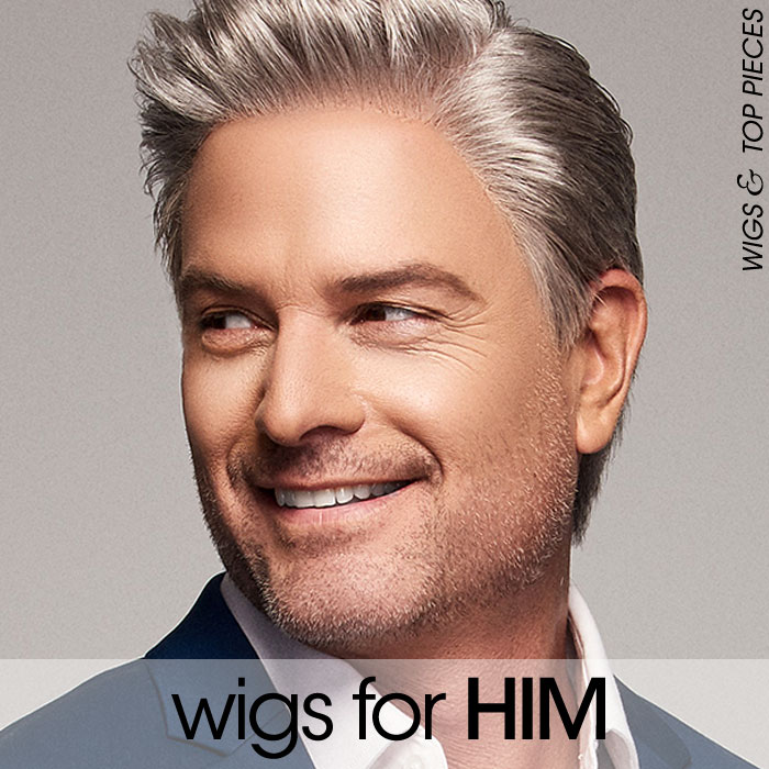 Wigs for Men - Wigs & Toppers