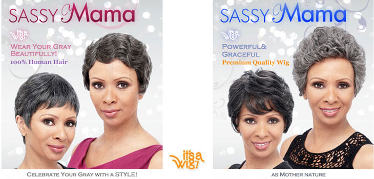 Sassy Mama Wigs of Human Hair Wigs and Premium Quality Synthetic Wigs