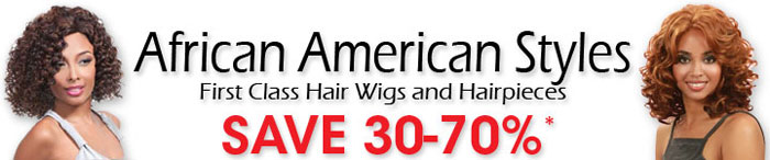 Wigs for African Americans